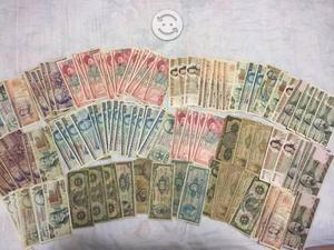 Lote 120 billetes antiguos