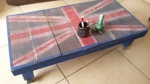 Mesa de centro estilo inglés