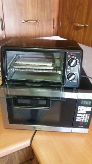 Microondas y horno en venta