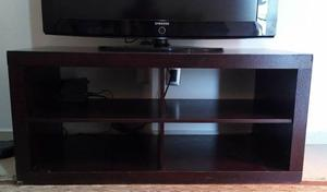 Mueble tv o pantalla color chocolate muebles dico posot - Muebles para tv plana ...