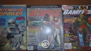 Revistas Nintendo Power,atomix,gamepro