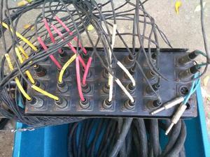 Snake de 24 canales medio uso.