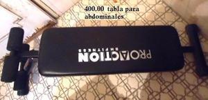 tabla para abdominales