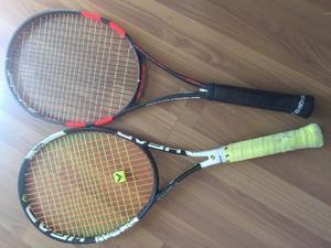 Par de raquetas de tennis