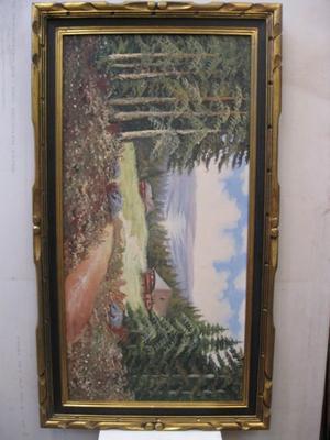 Pinturas de paisaje al óleo