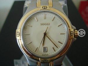 Reloj Gucci extensible acero y oro