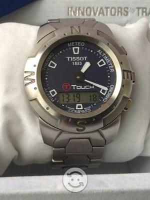 Reloj Tissot T Touch extensible completo