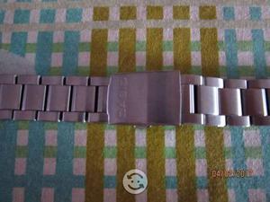 Extensible Reloj Casio / Acero Inox / 22 Mm X 18 C