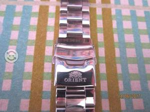 Extensible Reloj Orient / Acero Inox. / 22 Mm X 16