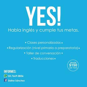 Profesora de Inglés/ Traducciones