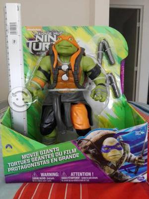 Tortuga Ninja 25 cm TMNT edición película