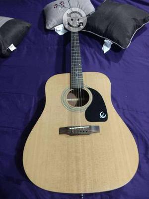Vendo guitarra Texana acustica marca Epiphone