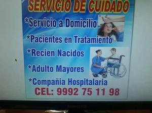 servicio de cuidado a personas mayores
