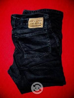 Jeans color negro talla 36x30 varias marcas hombre