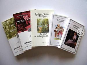 Libros (paquete con 5)