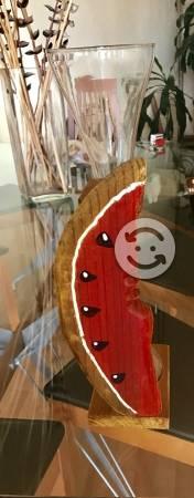 Yarda de madera de sandia