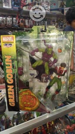 Duende verde vs spider man