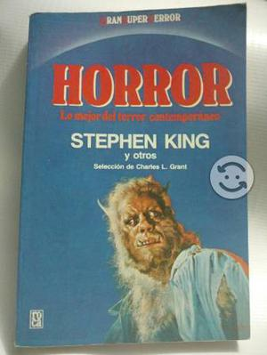 Stephen King Lo mejor del Horror contemporaneo 1