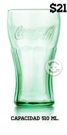 Vaso de Coca Verde