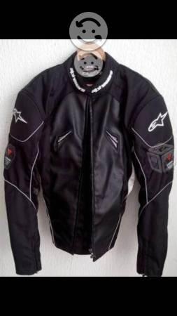 61d983ed720 Chamarra piel repsol para moto