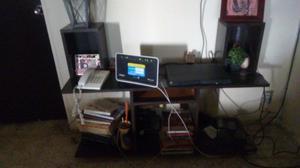 Mueble para tv y librero