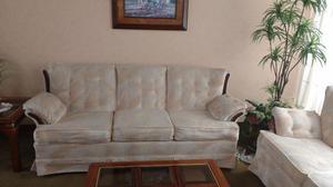 Vendo sala de 3 piezas color beige