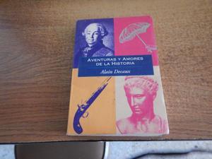 Libro Aventuras y Amores de la Historia