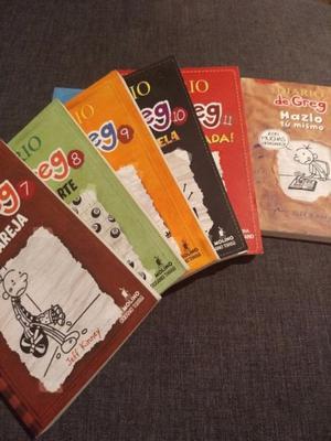 Libros del diario de greg colección 12 libros
