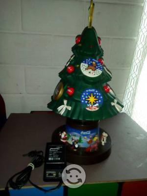 Arbol navideño coca cola