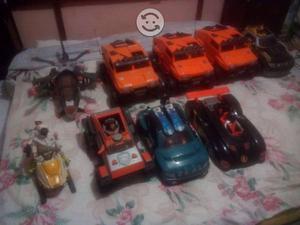 Coleccion de vehiculos de action man