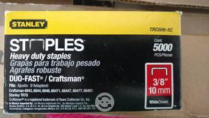 Grapas stanley TRCC