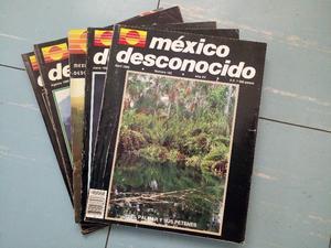 MEXICO DESCONOCIDO REVISTA VARIOS NUMEROS