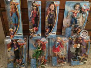 Muñecas: Batichica, Mujer Maravilla, Harley Quinn