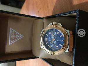 Reloj Guess Azul Mezclilla