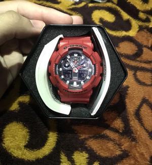 Reloj g shock rojo nuevo original $