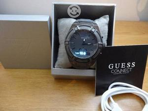 Reloj guess connect bluetooth,nuevo,caja,cristal t