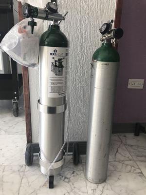 Tanque de oxígeno nuevo