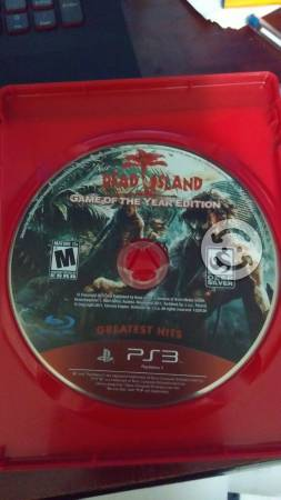 Uncharted 3 y Dead Island para Ps3