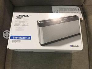 Bocina Bluetooth Bose soundlink 3 nuevo sellado