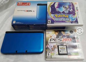 Nintendo 3DS XL al 100 mas 3 juegos