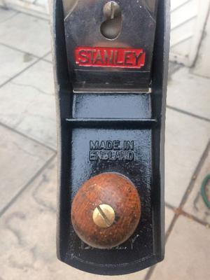 Cepillo Para Carpintero Bailey Stanley #6 Hecho En Inglatera