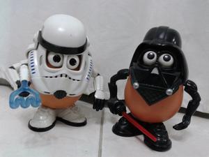 Star wars Duo cara de papa
