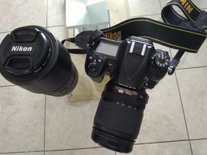 Cámara NIKON D Con dos lentes PROFESIONALES: DX