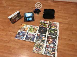 New Nintendo 3DS XL con juegos físicos
