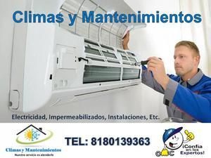 REPARACIÓN DE CLIMAS MINISPLIT