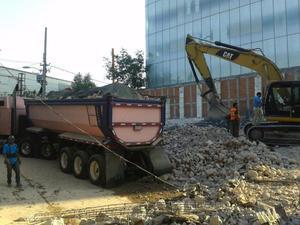 escombros, demoliciones y excavaciones