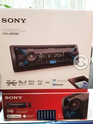 Autoestereo sony con.USB.AUX.Bluetooth.