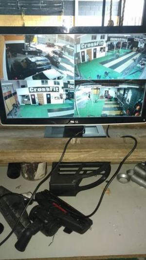 instalación de cámaras de seguridad lorex, dahua, keytek