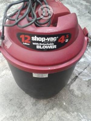 Aspiradora shop vac 12 gal 4.5 hp