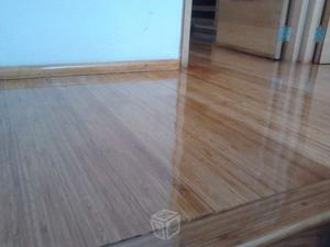 Pulido y barnizado de pisos de madera